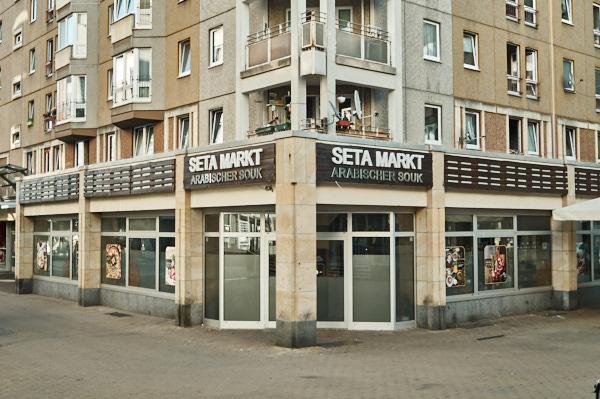 Der Seta Markt bietet viele außergewöhnliche Sachen.