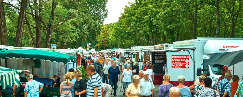 Wochenmarkt Lingerallee 4