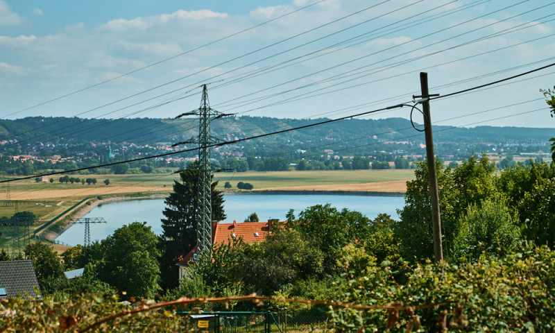 Stausee in Niederwartha