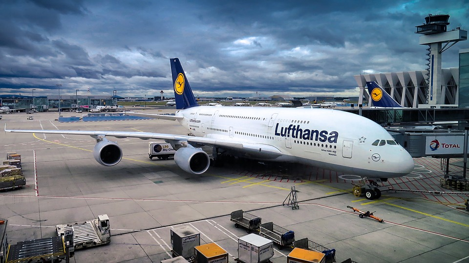 Der Airbus A380 der Lufthans. ©pixabay