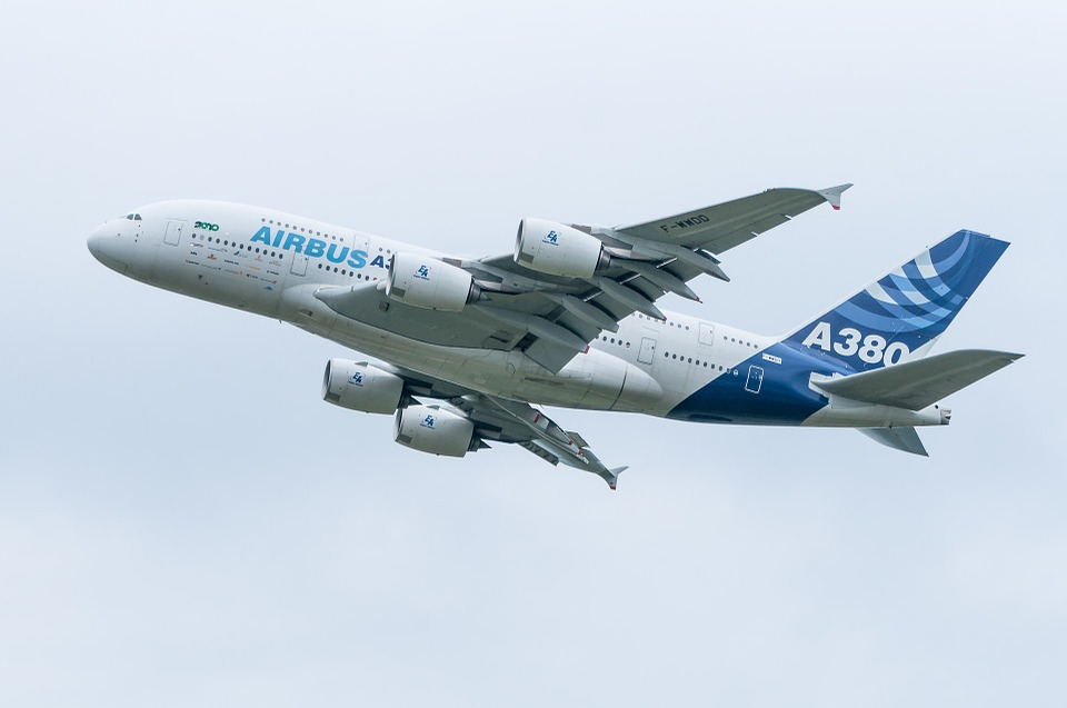Der Airbus A380. ©pixabay