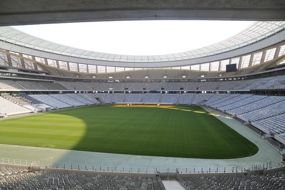 In einem Stadion wie diesem ist genug Platz für tausende Gäste.