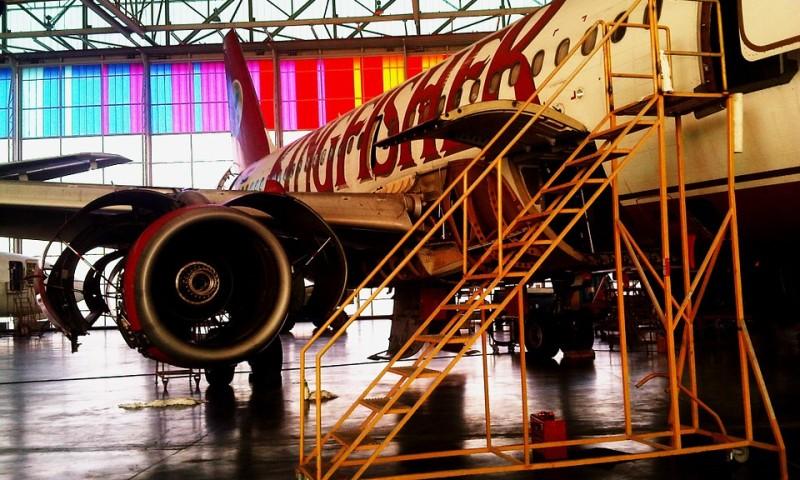 Eine Reparaturhalle eines Flugzeuges. ©pixabay