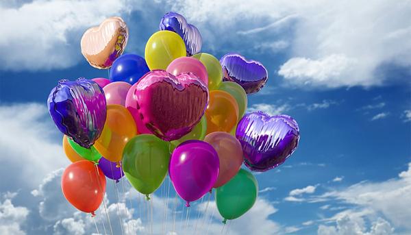 Hier gibt für jeden Anlass ganz besondere Luftballons.