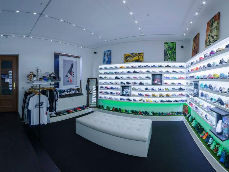 Der Schrittmacher-Sneaker-Store in Dresden