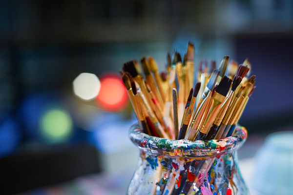 Malen und Zeichnen ist besonders beliebt!
