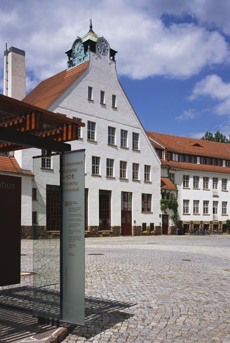 Foto: GebäudeEnsemble Deutsche Werkstätten Hellerau