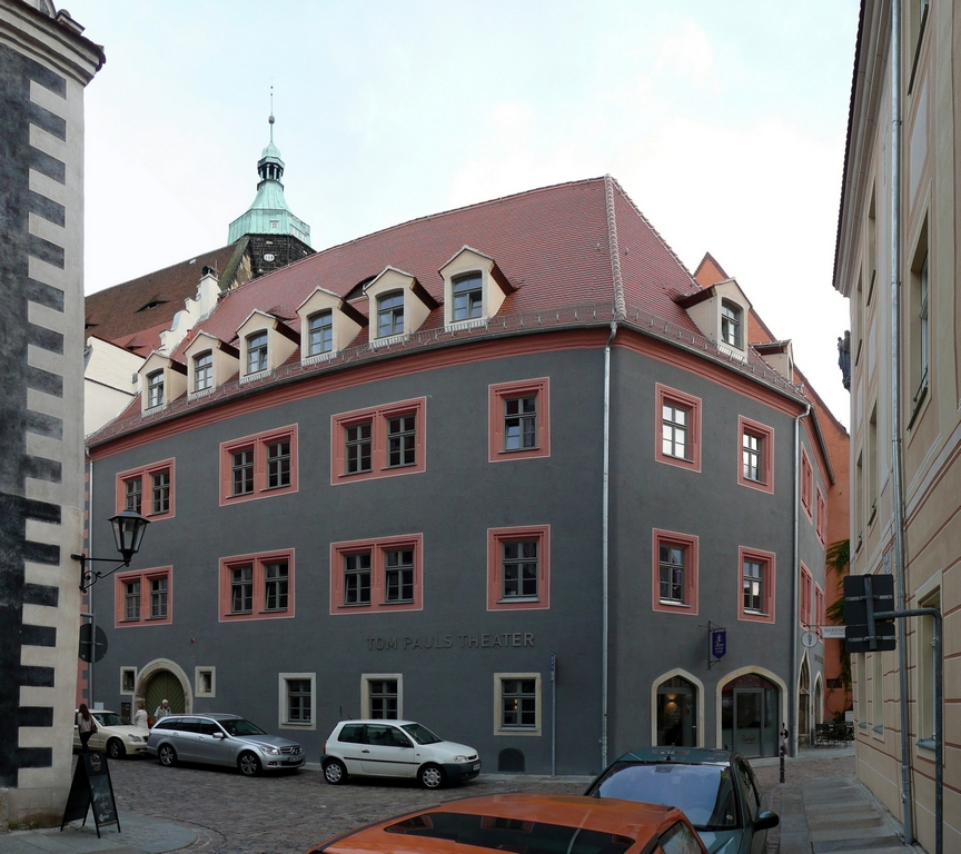 Das Tom Pauls Theater in Pirna