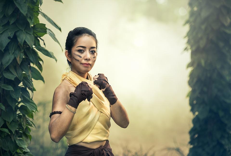 Viele Kampfsportarten stammen übrigens aus dem asiatischen Bereich.