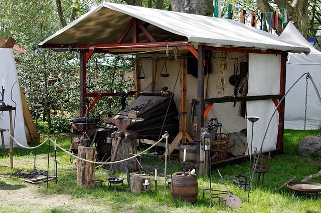 Viele Handwerker werden wieder auf dem Mittelaltermarkt sein und dich mit traditionellen Handwerk begeistern!