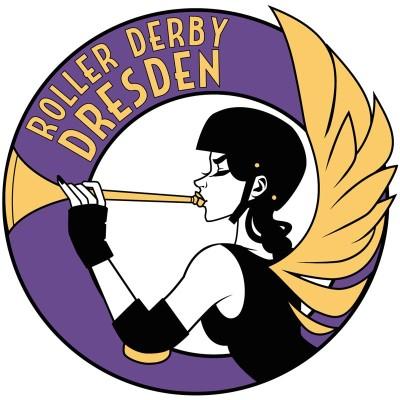 Das aktuelle Logo von Roller Derby Dresden