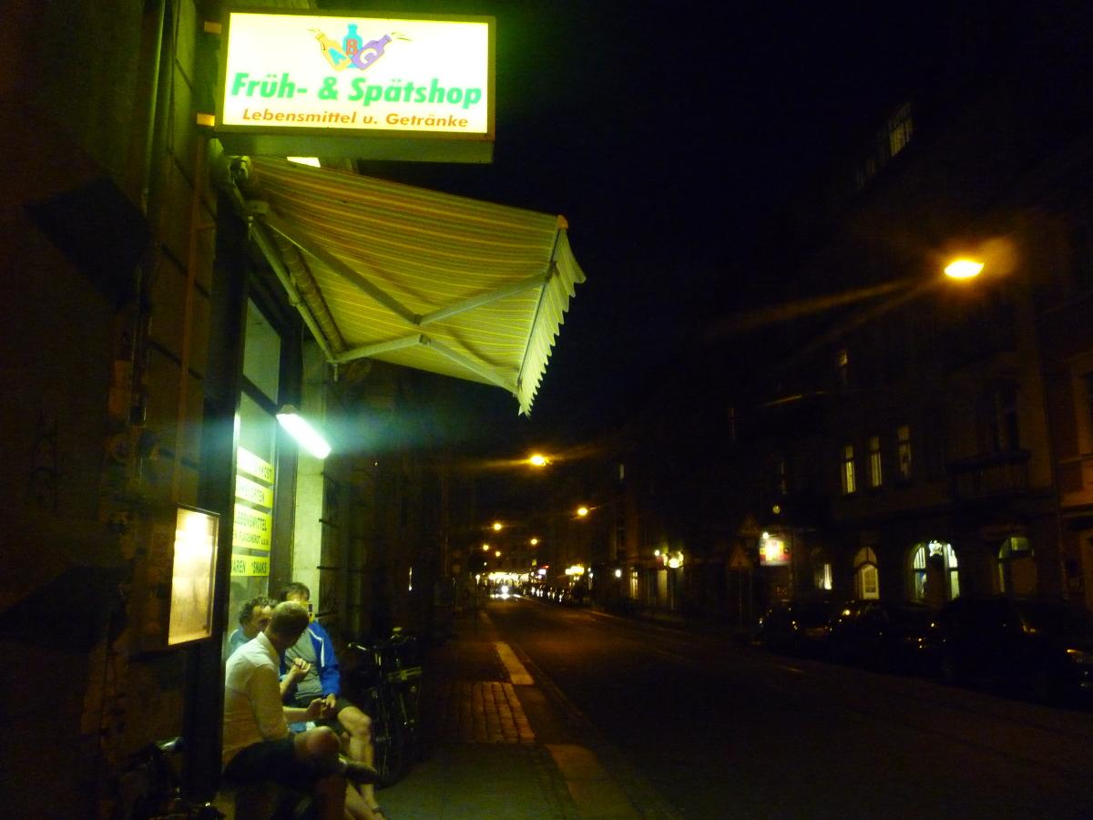 ABC Lebensmittel - Spätshop auf der Görlitzer Straße in der Dresdner Neustadt