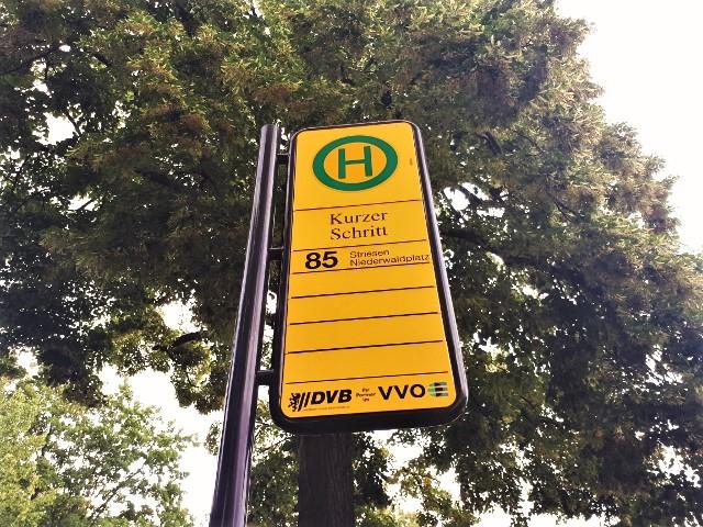 Sogar eine Haltestelle der DVB trägt den Namen.