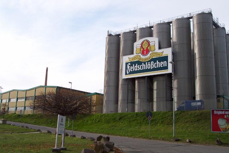 Die Feldschlösschen-Brauerei