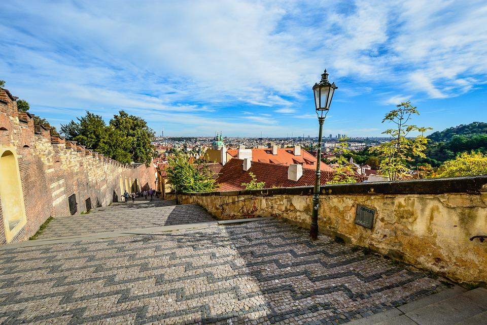 Blick auf Prag.