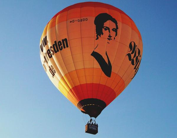"""©www.ballon-dresden.de - Ihr """"Flaggschiff"""" der Wilhelmine Reichard Ballon"""