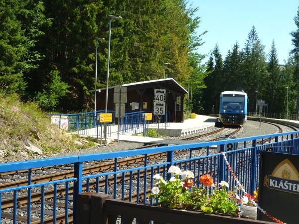 Bahnhof in Harrachov