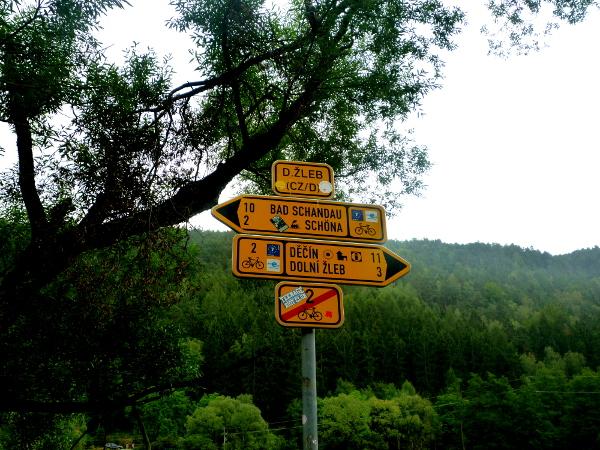 Ende Radweg 2