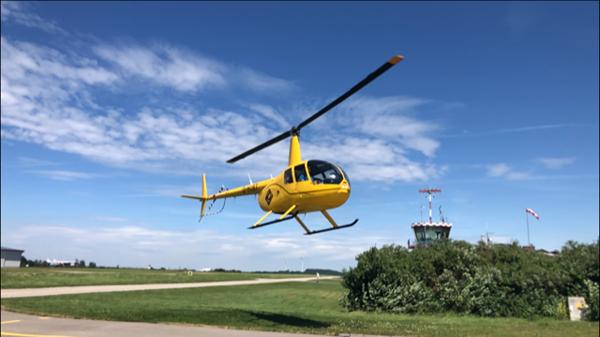 ©www.heliflieger.com - In diesem Hubschrauber kannst du einen Rundflug über Dresden genießen.