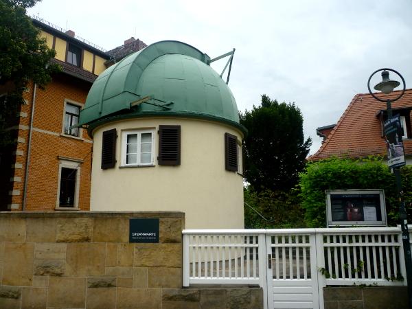 Die Sternwarte Manfred von Ardennes auf dem Weißen Hirsch