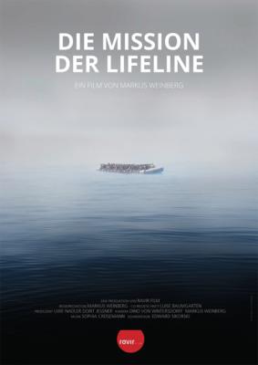 """Filmplakat zum Film """"Die Mission der Lifeline""""."""